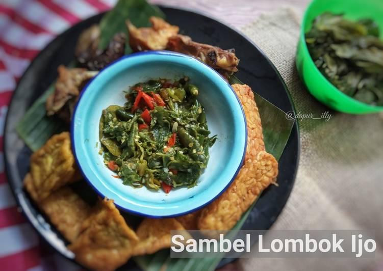 Cara Mudah memasak Sambel lombok ijo istimewa