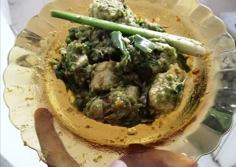 Cara memasak Ayam sambel hijau