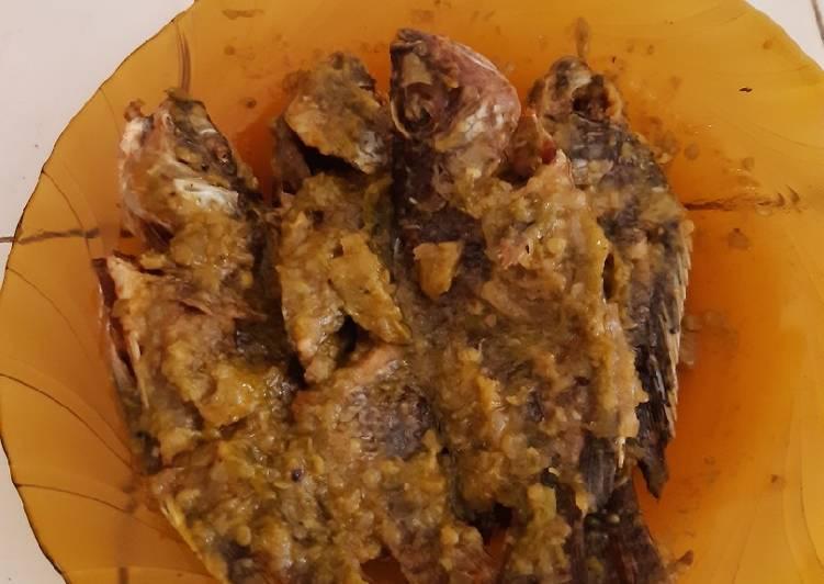 Cara Mudah memasak Ikan nila 🐟 sambel ijo