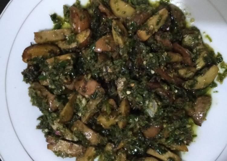 Cara memasak Jengkol sambal ijo