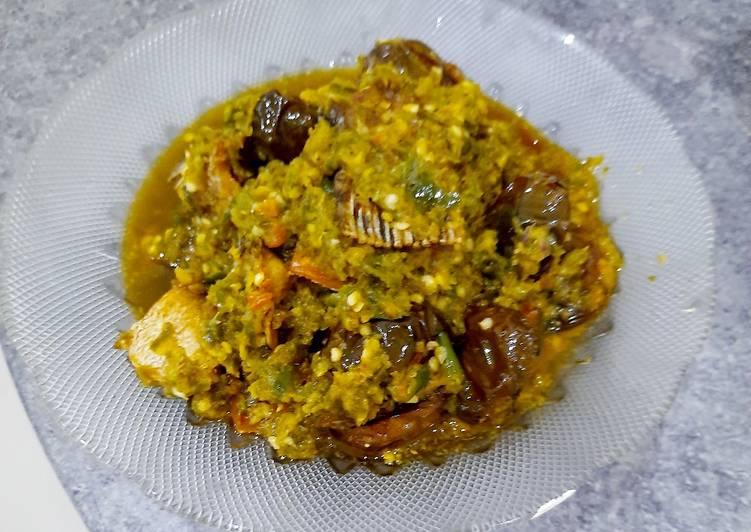 Resep: Ikan gabus sambel ijo Padang