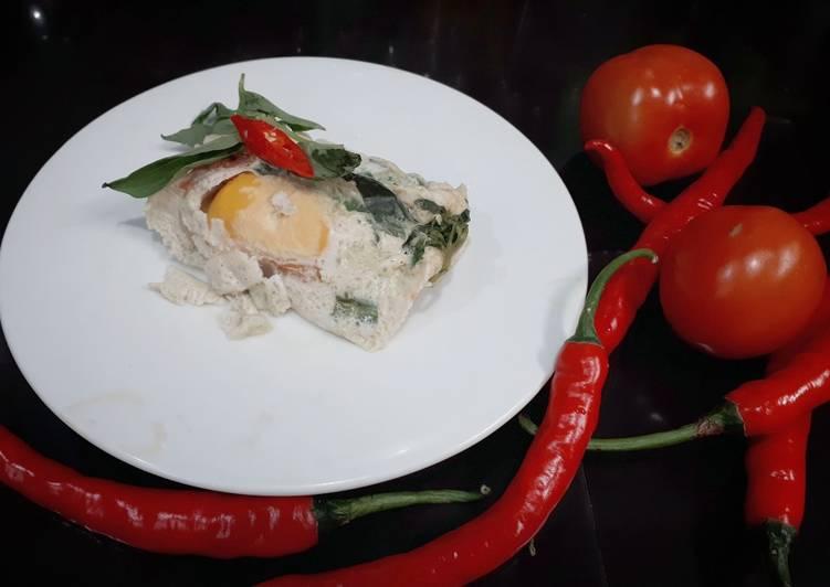 Resep: Botok telur asin enak