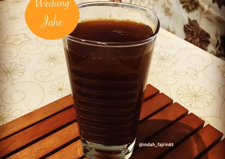 Resep mengolah Wedang Jahe lezat