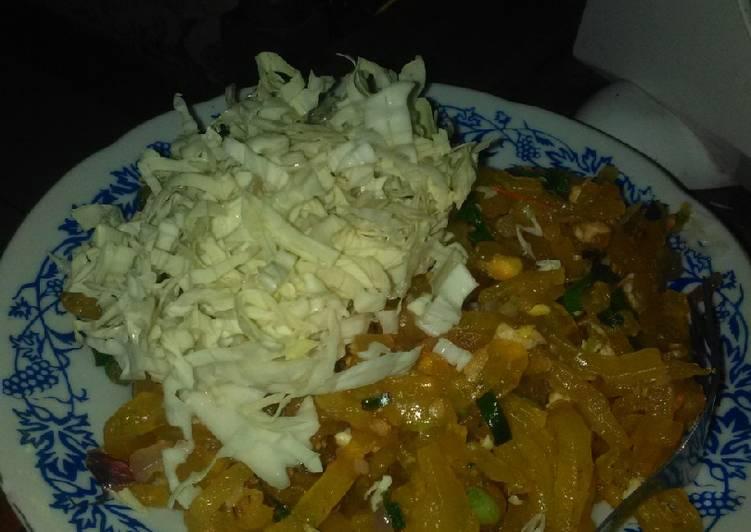 Cara membuat Mie Des(khas Pundong Bantul) extra markojozzzz pedasnya