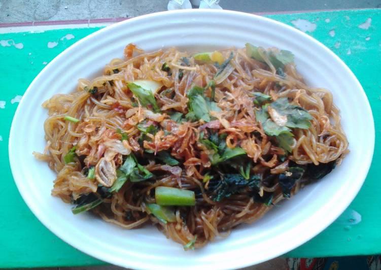 Resep: Mie lethek goreng khas Bantul istimewa