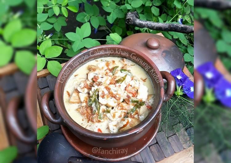 Resep: Sayur Tempe Cabe Ijo khas Gunung Kidul istimewa