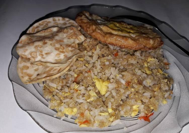 Resep: Nasi goreng tiwul gunung kidul