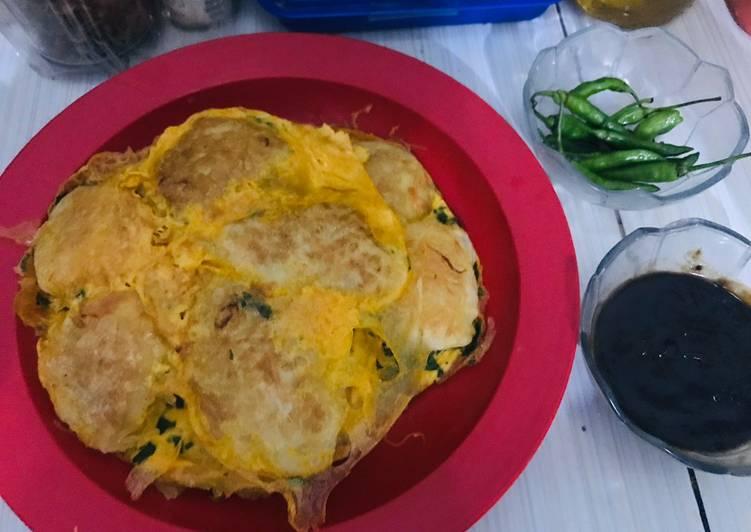 Resep memasak Martabak kampung suroboyo