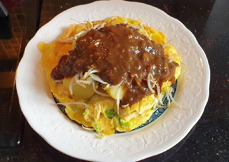 Cara memasak Tahu Telor Surabaya ala Titut