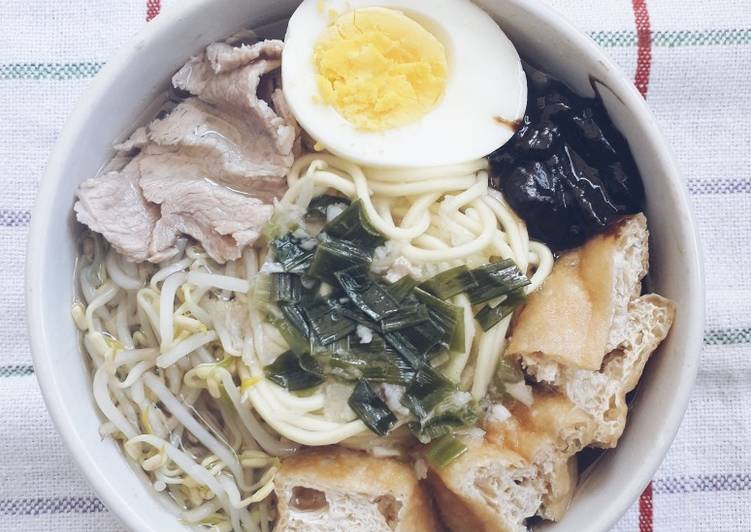 Resep: Lontong Balap (komplit & mudah) lezat