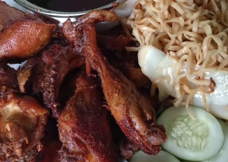 Resep: Bebek goreng pedas madura enak