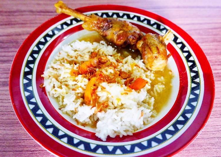Resep: Bebek goreng kuah rempah JAMIN NAGIH 😭💯 lezat