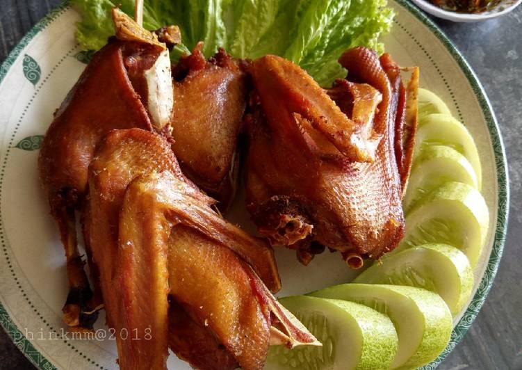 Cara membuat Bebek goreng enak