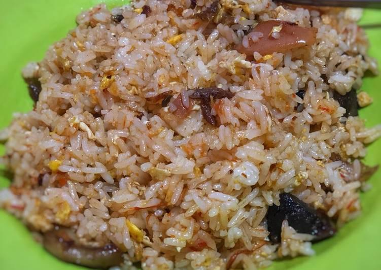Resep: Nasi goreng bebek