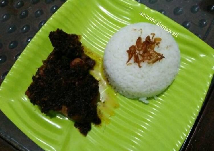 Resep: Ayam goreng ala nasi bebek madura