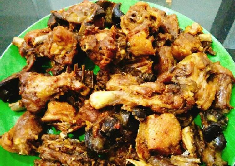 Resep: Bebek Peking goreng(bumbu ungkep)