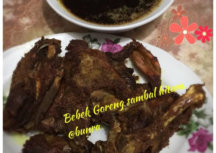 Resep: Bebek Goreng sambal hitam istimewa