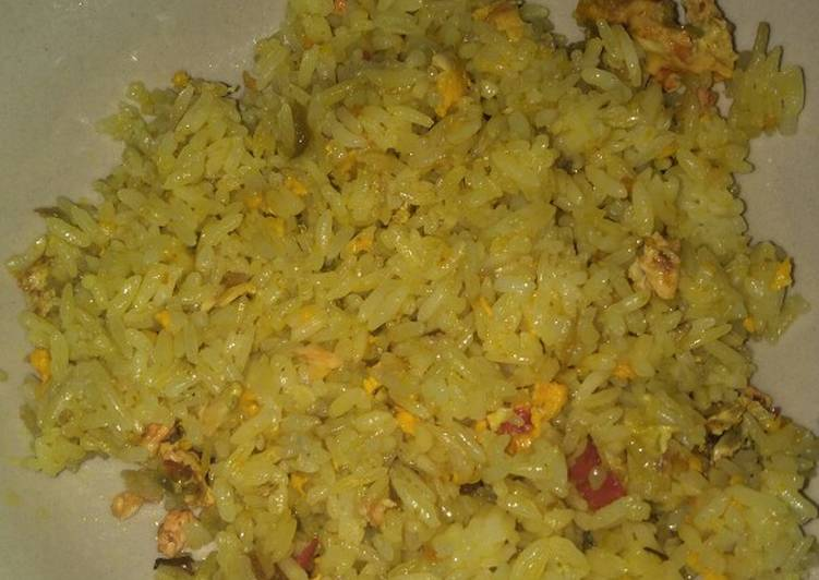 Resep: Nasi goreng telur bebek