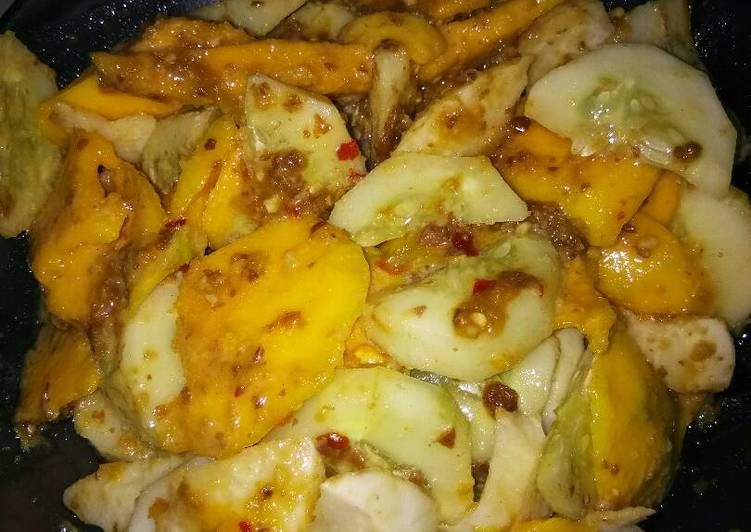 Resep memasak Rujak bumbu uleg penuh cinta enak