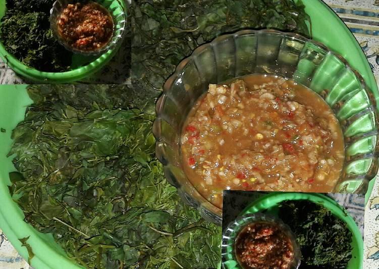 Cara Mudah memasak Semanggi & marronggi/morringa/daun kelor sambel sere