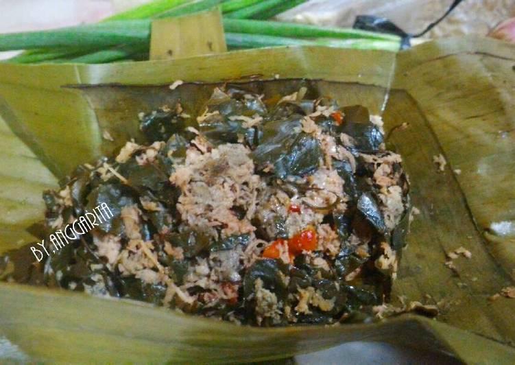 Resep: Botok semanggi tempe semangit