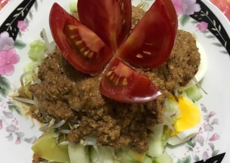 Resep: Tahu tek telur for clean food diet istimewa