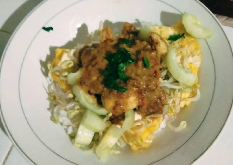 Resep memasak Tahu Tek tanpa petis lezat
