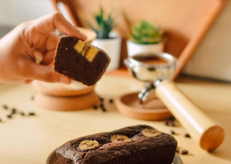 Resep: Chocolate banana tea cake