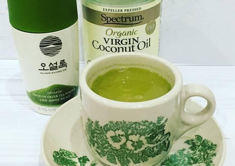 Cara Mudah mengolah Bulletproof matcha green tea keto