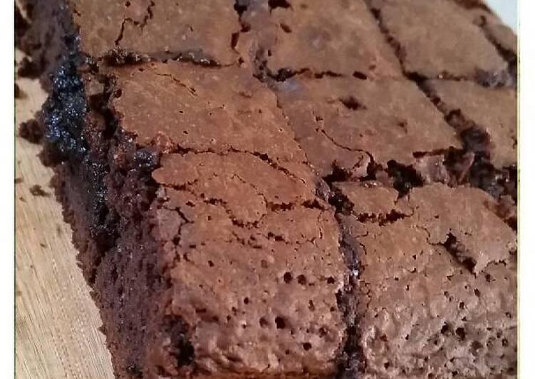 Resep: Brownies kopi ala teh indi
