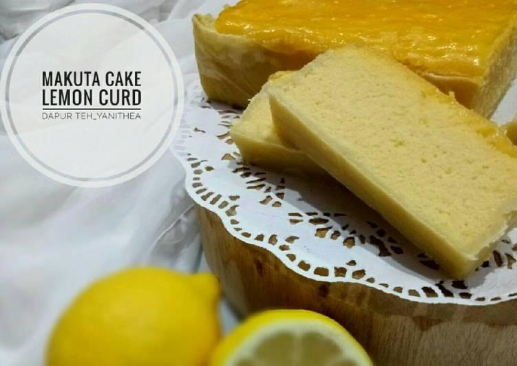 Resep: Makuta Cake Lemon Curd ala dapur teh_yanithea istimewa