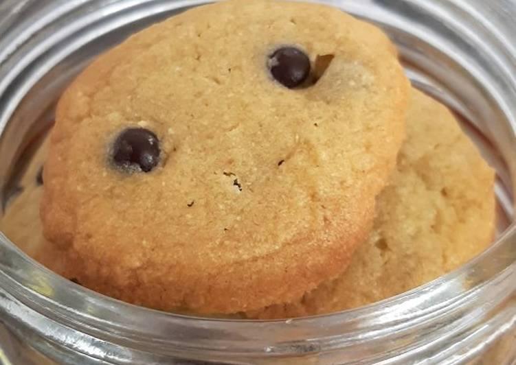 Cara memasak COOKIES chocolatos green tea with choco chips