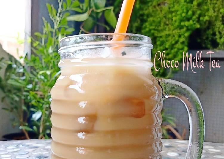 Resep: Choco milk tea ala cattaim istimewa