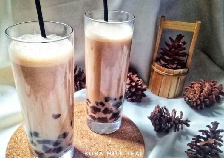 Resep: Boba milk tea