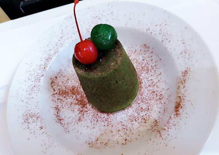 Resep: Green tea chocolatos lava lezat