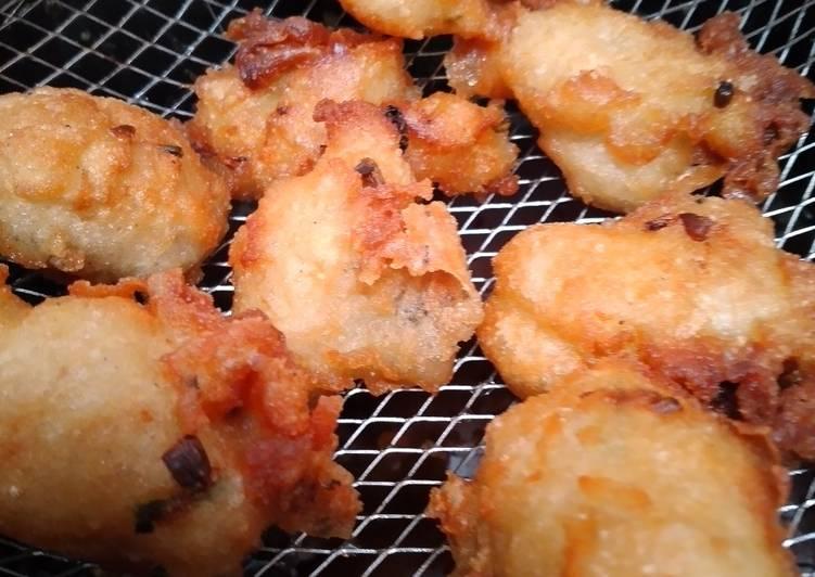 Resep: Cucur bawang lezat