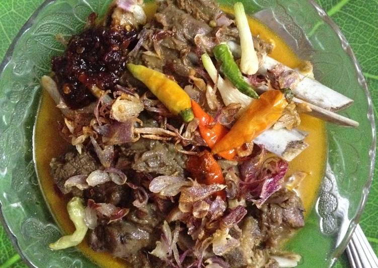 Resep: Gulai (Iga) Kambing asli Porong Sidoarjo