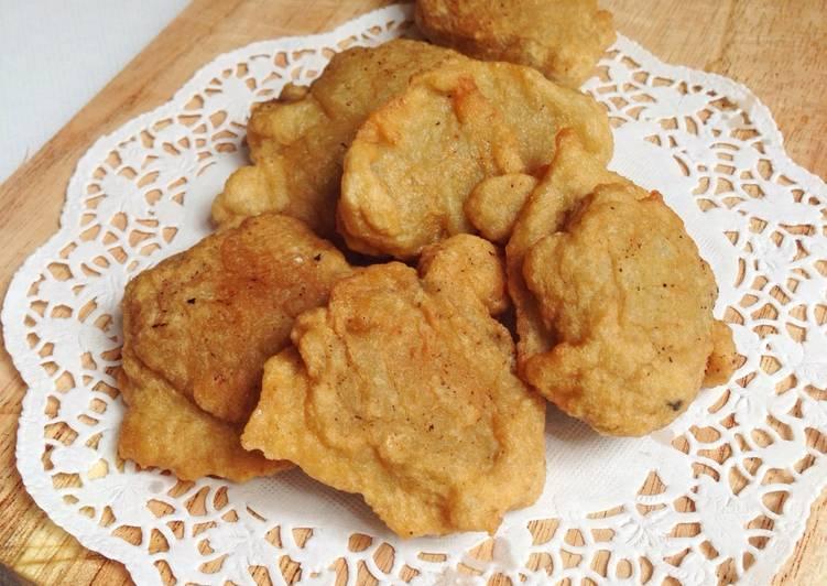 Bandeng Fish Cake (otak-otak goreng)