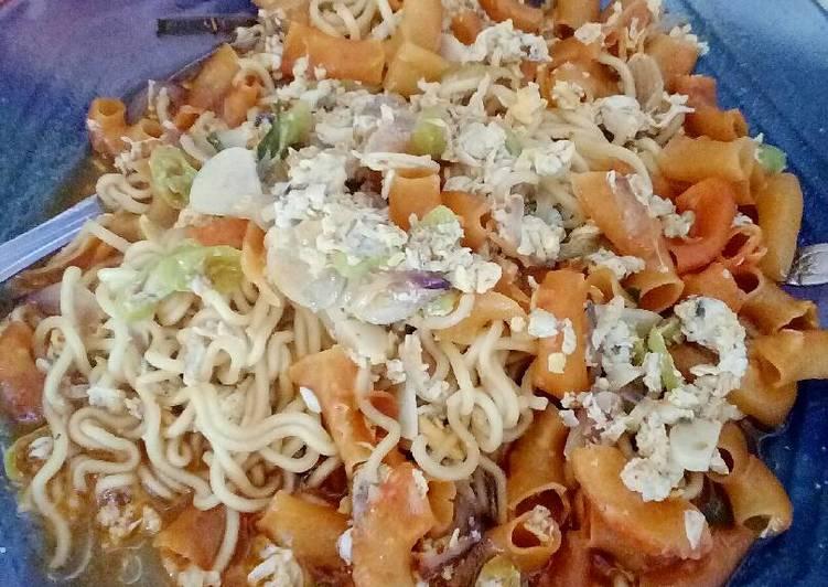 Resep: Mie Seblak kuah Kerupuk Udang dan Macaroni ala chef Gunawan 😎 istimewa