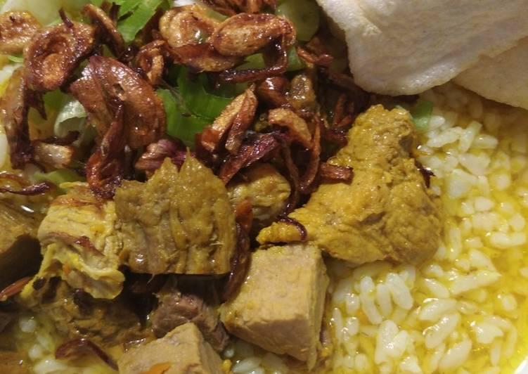 Resep: Soto daging Madura lezat