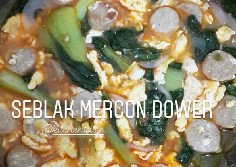 Cara mengolah SEBLAK MERCON DOWER ala Kitchentaste