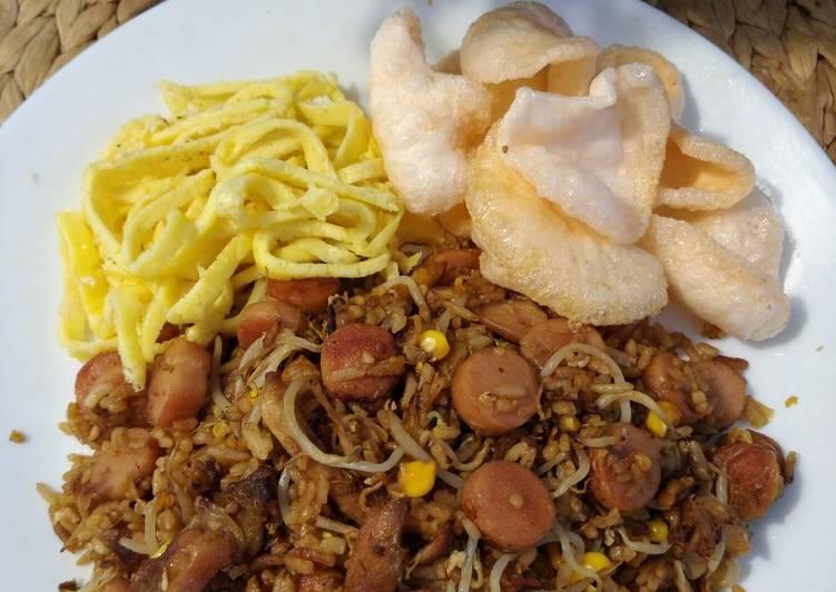 Resep: Nasi goreng spesial menu untuk anak (tidak pedas)