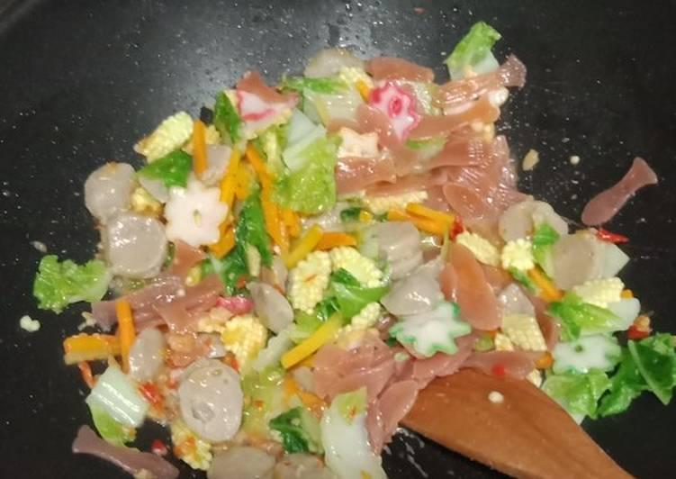 Cara Mudah mengolah Seblak sayur sesuai selera