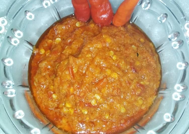 Resep membuat Sambal Roa pake Bandeng