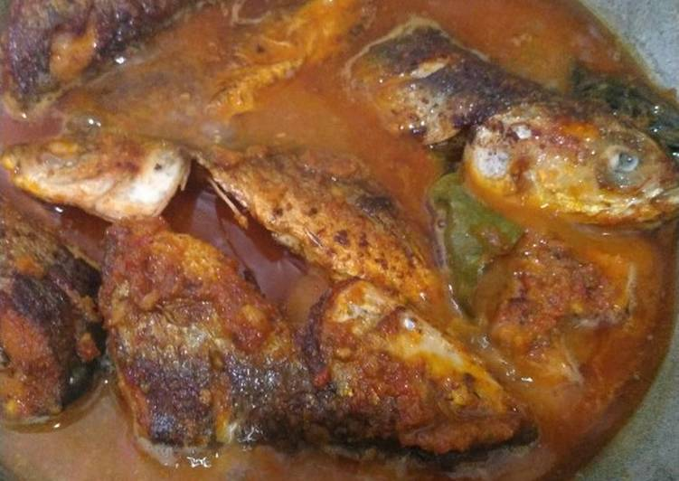 Cara Mudah mengolah Mangut ikan bandeng enak