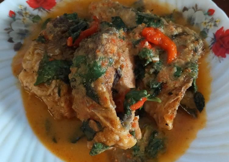 Resep: Ikan bandeng bumbu mangut