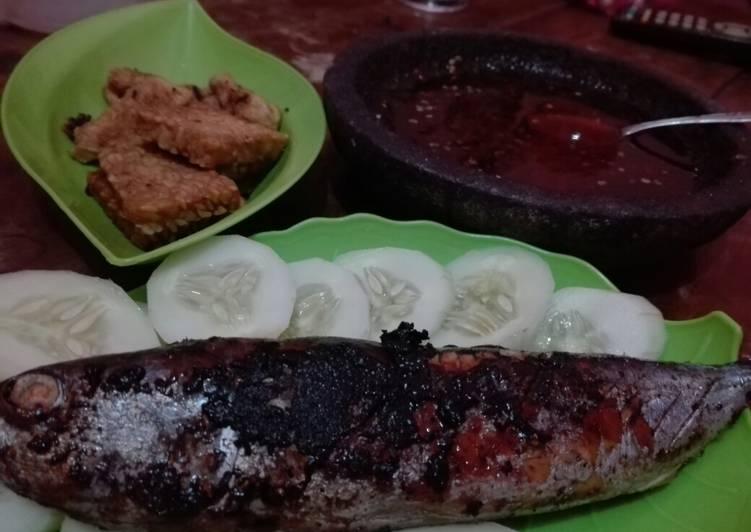 Resep: Cakalang Bakar siram cabe petis