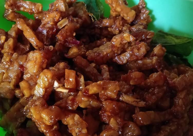 Cara memasak Kering tempe / Petis tempe lezat