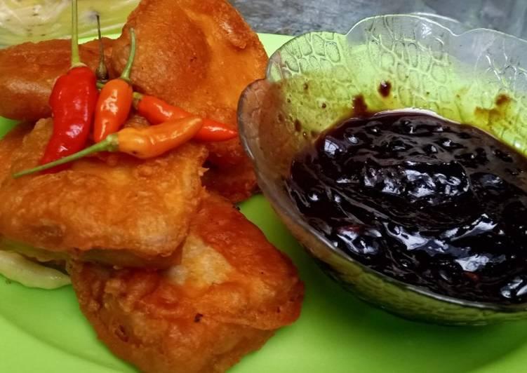 Resep: Menjos goreng sambal petis