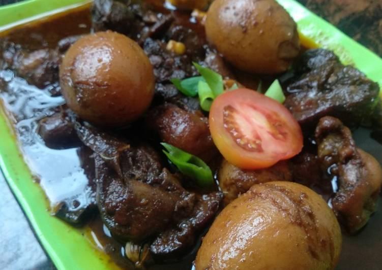 Resep: Telur hitam petis lezat